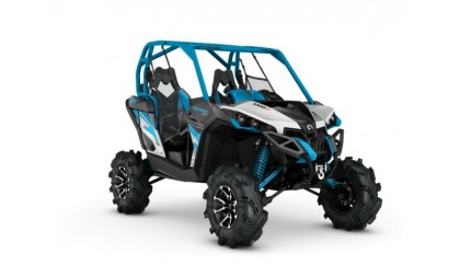 Maverick 1000R X mr Hyper Silver/Black/Octane blue INT