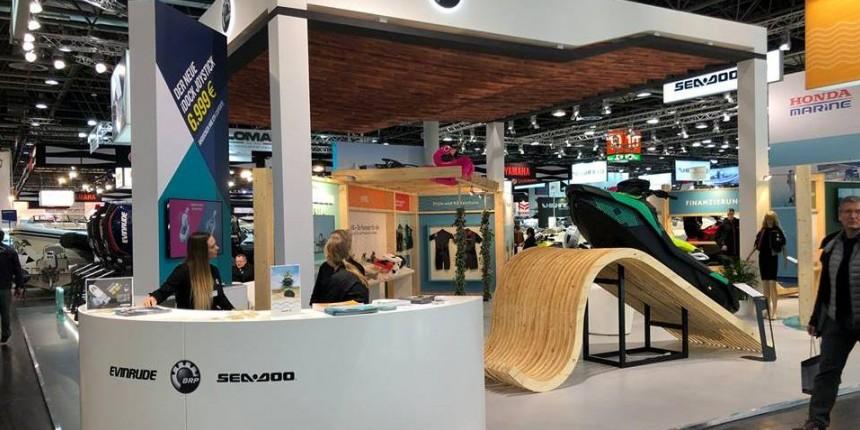 «Sea-Doo BRP на виставці Boot Düsseldorf 2019»в г. Дюссельдорф