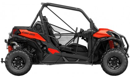 Maverick Trail DPS 800 Black-Can-am Red INT