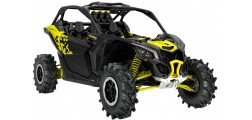 Maverick X3 XMR Carbon Black-Sunburst Yellow INT