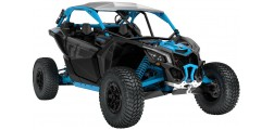 Maverick X3 X RC TURBO R  Carbon Black  Gulfstream Blue