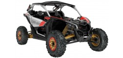 Maverick X3 X RS TURBO R Hyper Silver-Liquid Gold-Can-am Red