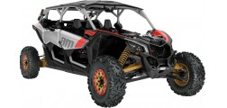 Maverick X3 MAX X RS TURBO R Hyper Silver-Liquid Gold-Can-am Red