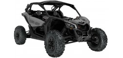Maverick X3 X RS TURBO R Platinum Satin INT