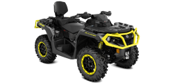Outlander MAX 1000R XT-P Black-Sunburst Yellow INT