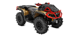 Outlander 1000R X mr Liquid Gold-Can-am Red INT