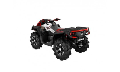 Outlander 1000 X mr White/Black/Can-Am Red INT