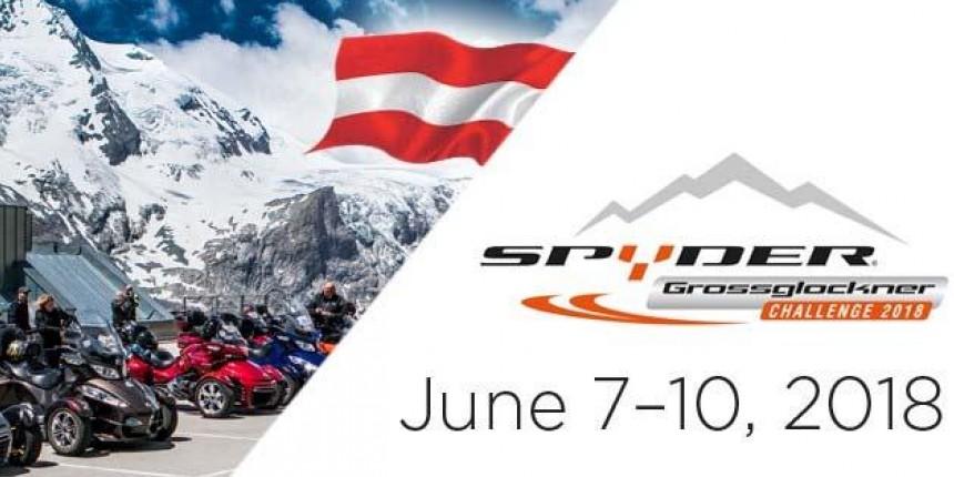 «Can-Am Spyder Grossglockner Challenge» 2018 7-10 червня 2018 р.