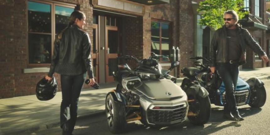 Spyder F3 Limited – идеальный двухместный трицикл для путешествий