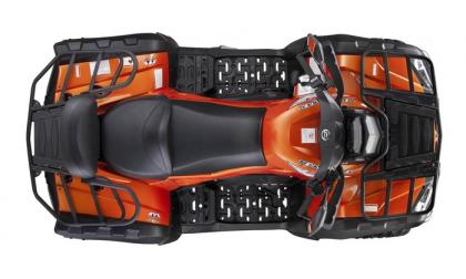 CF800-C X8 Max XT EFI  Orange