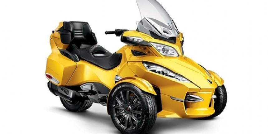 Cпециальном предложение на покупку Spyder RT-S Circuit Yellow Sunshine (2015)