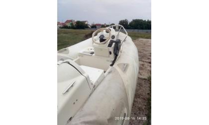 "Лодка надувная ""Zodiac"" с мотором SUZUKI DF40  №49"